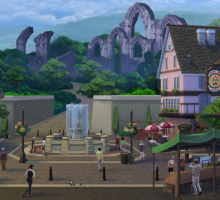Come abbiamo costruito Windenburg in The Sims 4