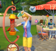 Divertitevi al sole con The Sims 4 Divertimento in Cortile Stuff