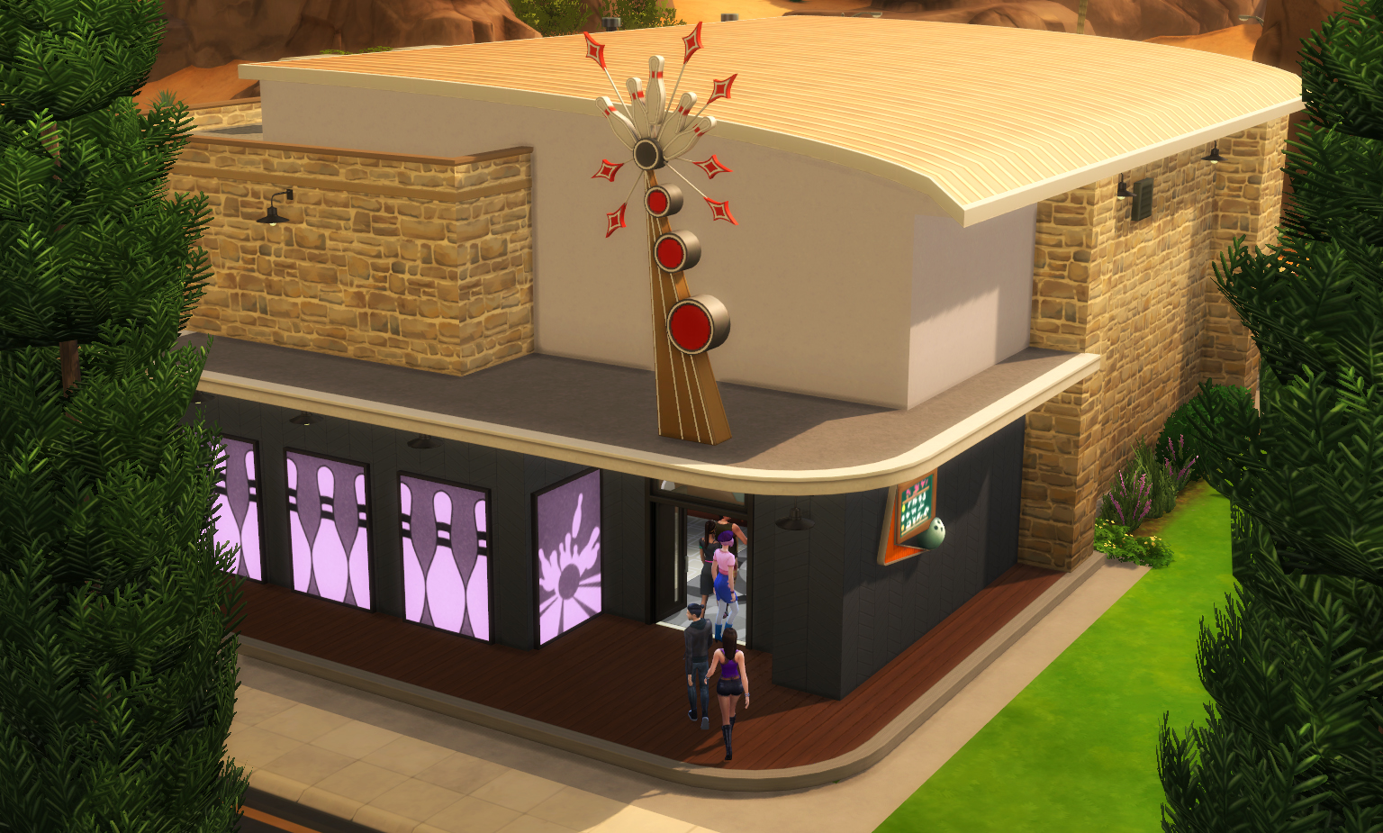 the sims 4 lotto bowling