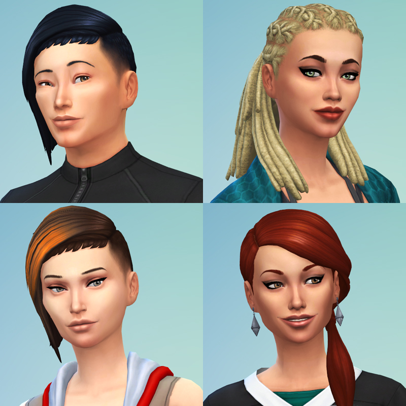 the sims 4 fitness capelli