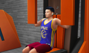 the sims 4 fitness auricolari