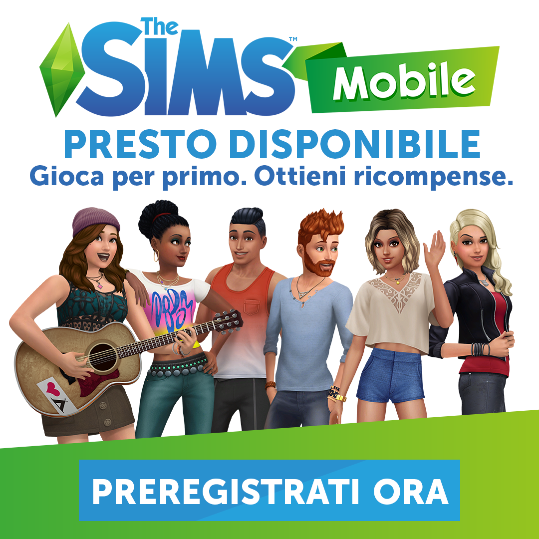 the sims mobile pre register