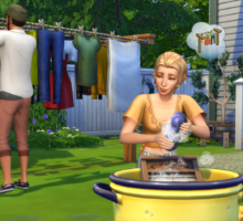 Lavate i panni sporchi con The Sims 4 Giorno di Bucato Stuff Pack!