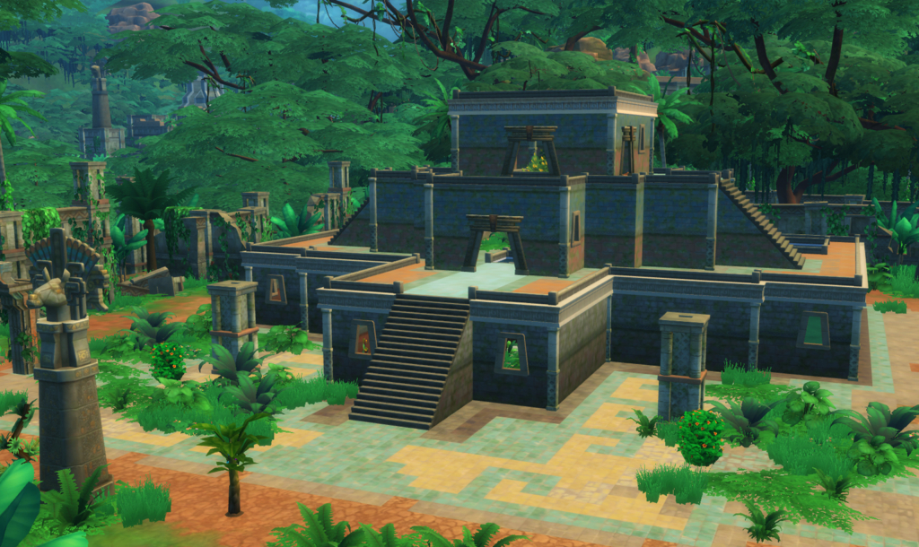 sims 4 temple