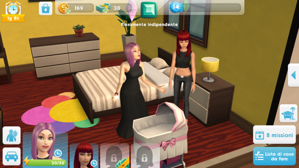sims mobile have a baby