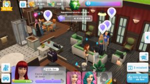 sims mobile ospiti