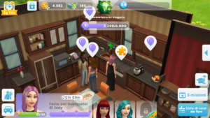 sims mobile party cooking