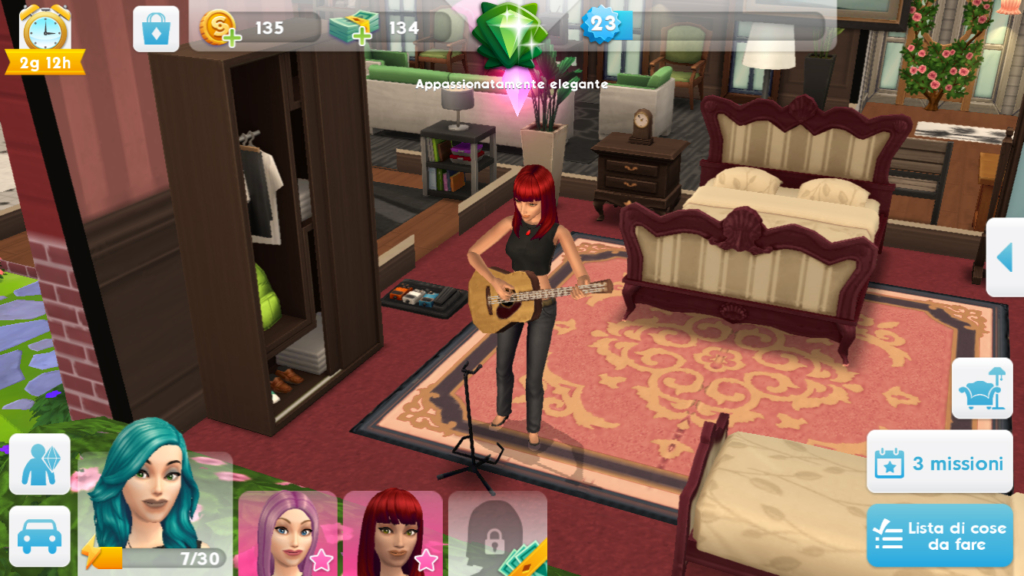 sims mobile guitar hobby