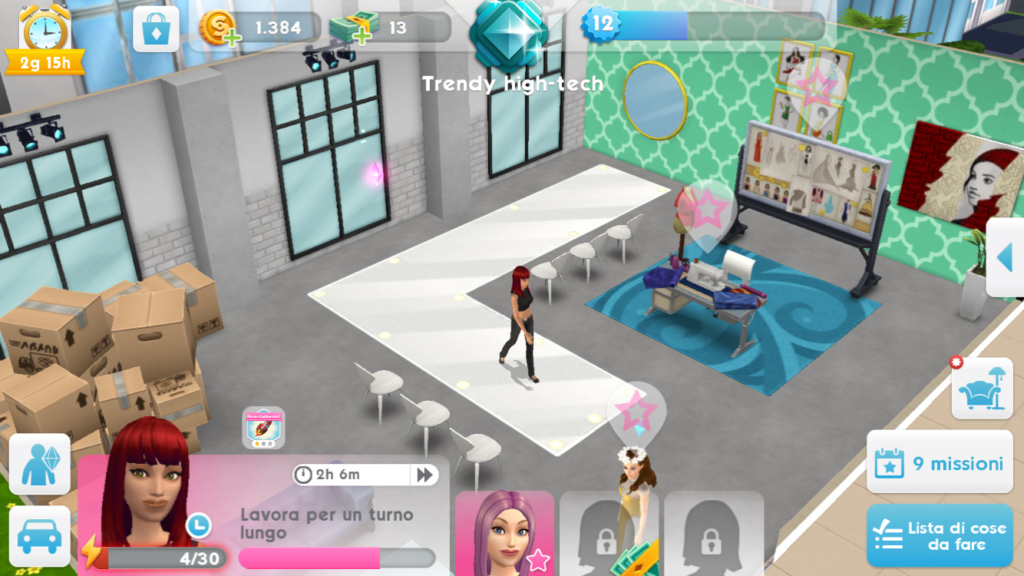 sims mobile fashion