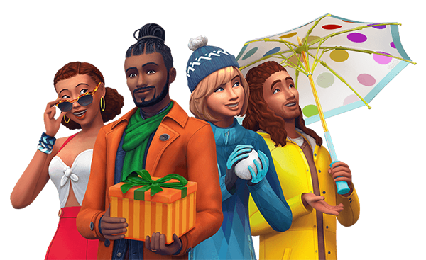sims 4 stagioni