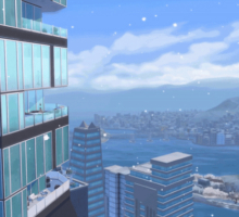 The Sims 4 Stagioni: Neve a San Myshuno!