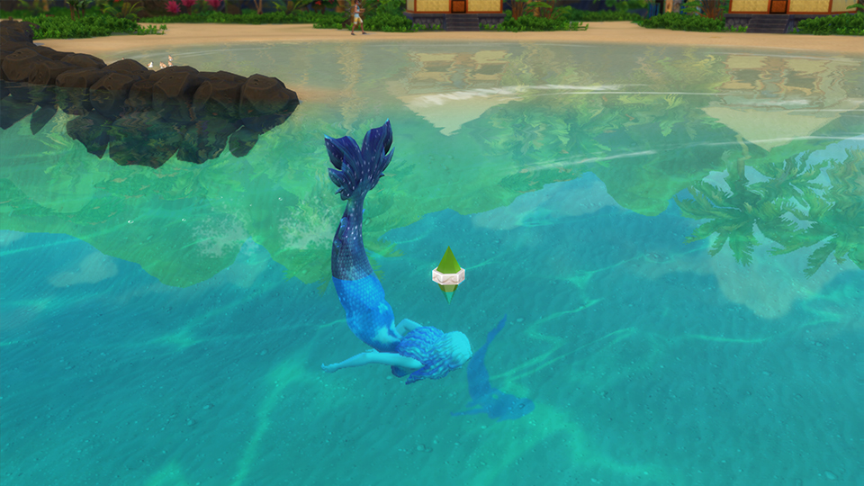 sims 4 mermaid