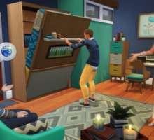 Sognate in grande e costruite in piccolo con The Sims 4 Mini Case