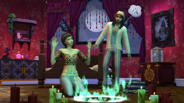 sims 4 paranormale